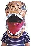 Adultos Divertido Inflables Disfraz Fantasia Traje Inflable Cabeza Dinosaurio Tyrannosaurus para Fiesta Halloween