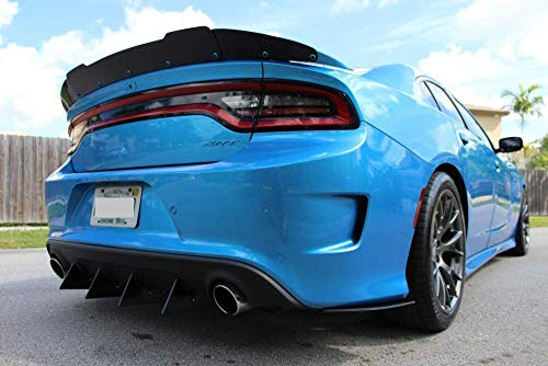 Rear Diffuser V1 6 Piece Compatible with Charger V6 2016-2019