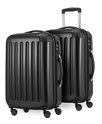 HAUPTSTADTKOFFER Bagages Cabine, 55 cm, 84 L, Noir