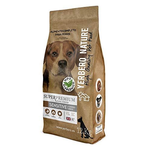 YERBERO Nature Sensitive Cordero/arroz Comida Hipoalergénica para Perros 12kg
