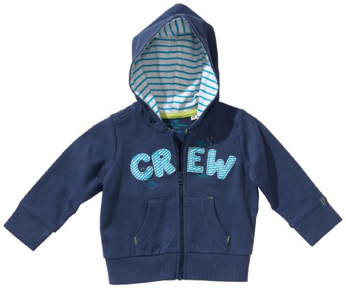 TOM TAILOR Kids Baby - Jungen Hemd 25150830022/fashion sweatjacket, Gr. 74, Blau (6586 forecast blue)