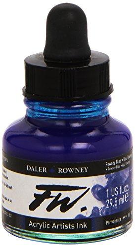 Daler Rowney FW Ink 29.5ml Rowney Blue