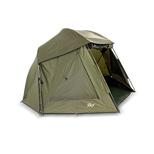 Lucx® Wolf Schirmzelt Brolly Shelter Angelzelt Karpfenzelt Zelt Bivvy Campingzelt  10.000mm Wassersäule