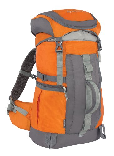 Outdoor Products Arrowhead Internal Frame Technical Backpack, 47.8-Liter Storage, Pumpkin