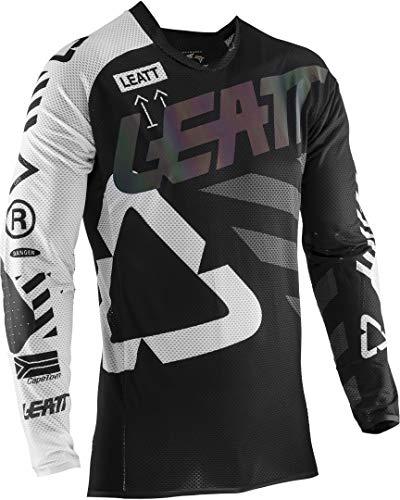 Leatt GPX 5.5 Ultraweld, Unisex-Erwachsene Motorrad Trikot Gr. XL, Schwarz