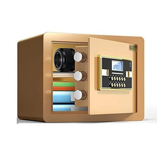 Insurance kabinet Kluizen, Brandkast Kleine Huis All Steel Electronic Digital Password Kluisje met alarmfunctie Password Lock Box Storage sieraden Cash waardevolle voorwerpen Drug Gold Black Kluis