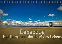 Langeoog - Ein Herbst auf der Insel des Lebens (Tischkalender 2022 DIN A5 quer): Herbststimmungen auf Langeoog. (Monatskalender, 14 Seiten )