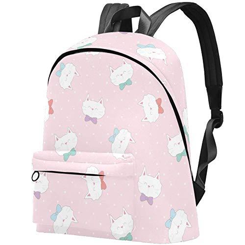 Süßes Baby-Schwein Vintage Doodle Comic Art Große Schultaschen Schulterrucksack für Reisen, Einkaufen, Wandern mehrfarbig08 17.3x13.7x5.5 in