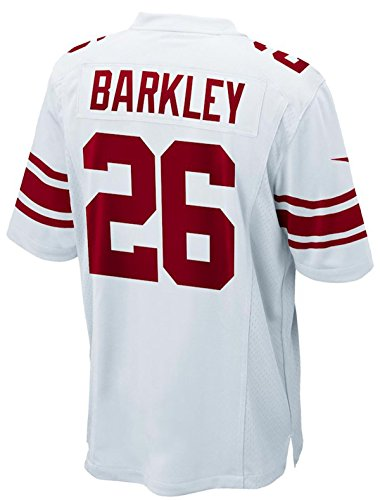 Nike New York Giants Saquan Barkley Youth Boys Game Jersey - White (Youth XL(18-20))