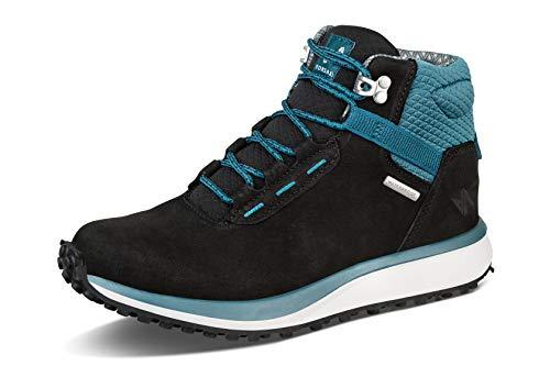 Forsake Range High – Women's Waterproof Leather Hiking Boot (11 B(M), Black/Arctic)