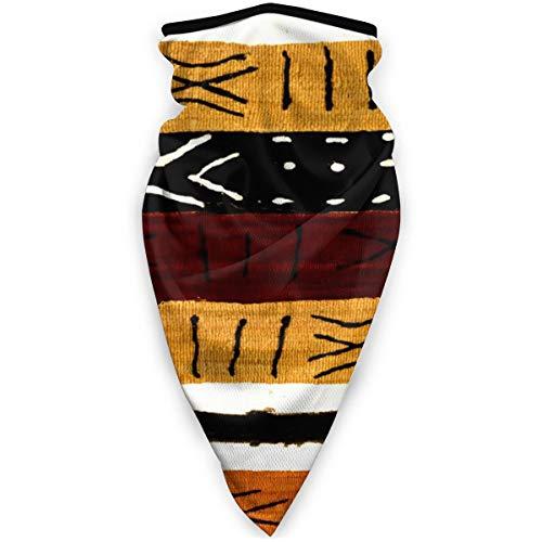 Bandanas Face Mask Ornate African Symbol Texture Neck Gaiter Headwrap Head Scarf Skiing Balaclava