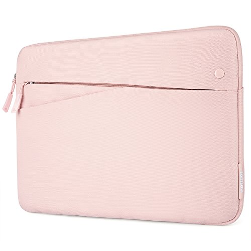 tomtoc Laptop Sleeve for 2020 New Dell XPS 15, 15 Inch MacBook Pro with USB-C A1990 A1707, Microsoft Surface Laptop 3 15, ThinkPad X1 Yoga (2nd/3rd Gen), 14 Lenovo Acer HP Chromebook, Water Repellent