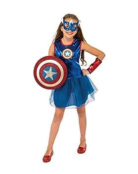 Rubie s Marvel Classic Child s American Dream Costume Toddler Blue