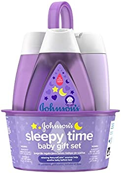 Johnson's Sleepy Time Baby Gift Set with Relaxing NaturalCalm Aromas