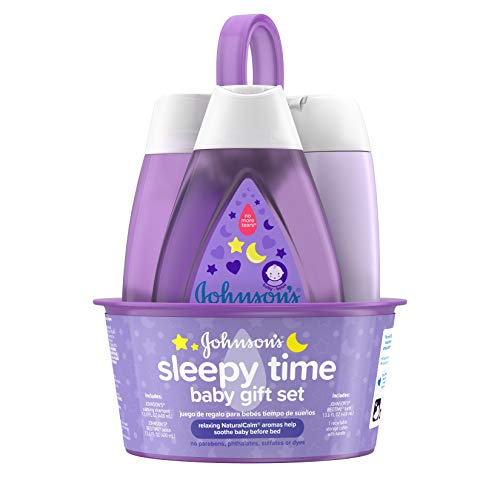 Product Image of the Johnson's Sleepy Time Bedtime Baby Gift Set with Relaxing NaturalCalm Aromas,...