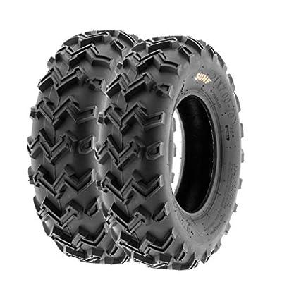 SunF ATV UTV Tires 21 24 4 PLY A001 (Set Pair of 2)