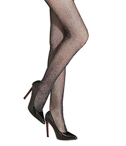 Eastery Women Net Fishnet Glitter Sheer Sparkle Stockings Pantybroek Tights Stockings eenvoudige stijl netpantybroek comfortabele Pantybroek