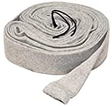LifeSupplyUSA Replacement 35ft Hose Cover Compatible with Central Vacuum Cleaners Knitted Hose Sock Cover with...