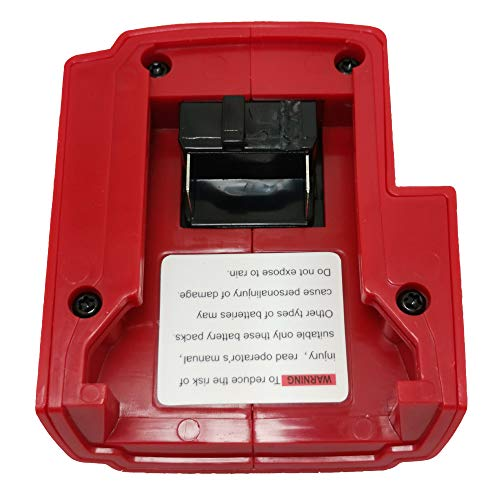 For Milwaukee 49-24-2371 M18 USB Power Charger Adaptor Heated 15-21V Jackets Power Source 18V Li-ion Battery Power Source