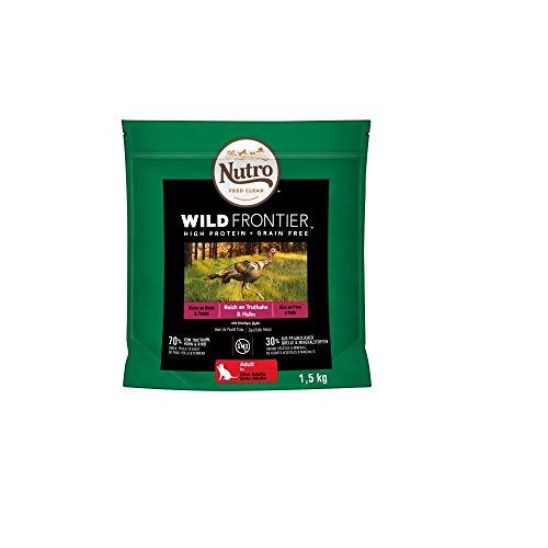 Alimento para Gatos Adultos. Pienso Nutro Wild Frontier Pavo y Pollo 1,5 Kg