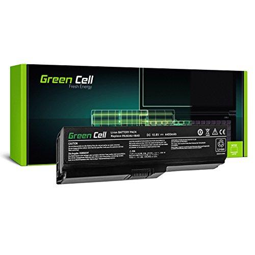 Green Cell® Standard Serie PA3634U-1BRS Batería para Toshiba Satellite A660 A665 L510 L650 L650D L655 L655D L675 L670 L670D M300 M500 U400 U500 Ordenador (6 Celdas 4400mAh 10.8V Negro)
