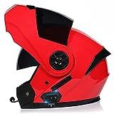 Casco Moto Con Cuffie Integrate