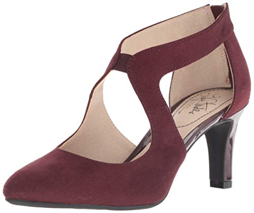 LifeStride womens Giovanna 2 Pump, Pinot Noir, 5.5 US