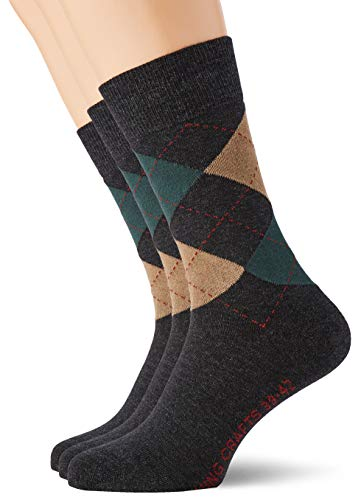 Living Crafts Socken 39/42, graphite melange