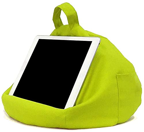 PWMAO Suporte de almofada para Tablet,Smartphones,suporte para Tablet,dois Bolsos para armazenamento, Design ergonómico (04)