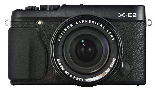 Fujifilm X-E2 Mirrorless Digital Camera with 18-55mm Lens (Black) - International Version (No Warranty)