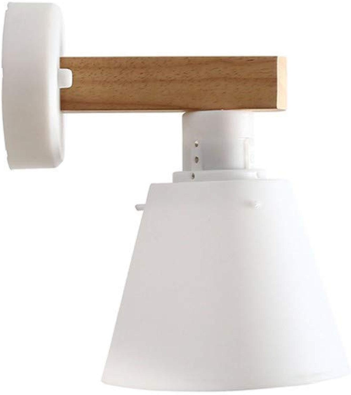 lumière Chandelier Creative Applique en bois à LED Applique murale Night lumière Lampe nordique Home E27