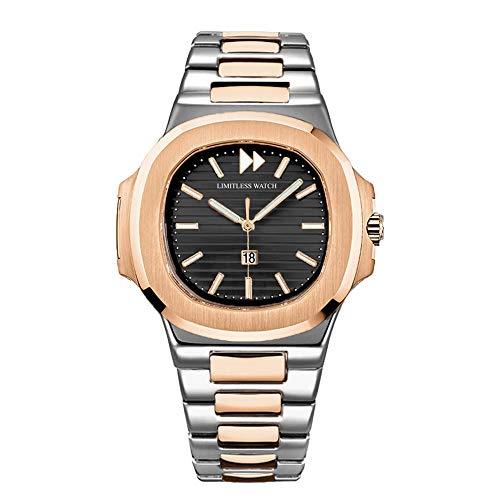 Limitless Watch Santorini Bicolore orologio al quarzo in acciaio