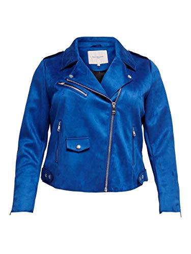 ONLY Carmakoma womens, Jacke, Blau (Mazarine Blue), 46