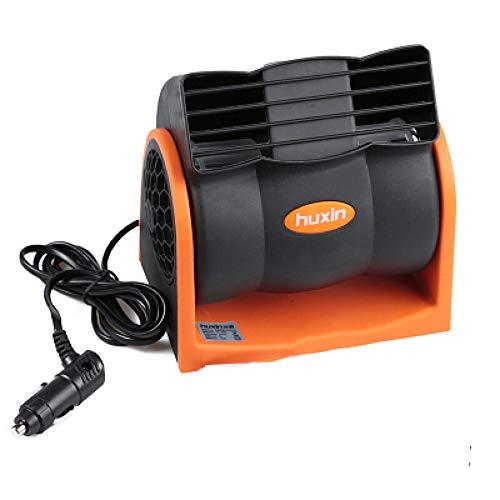 WQY 12V / 24V Aire Acondicionado para Automóvil Vehículo Camión Barco Refrigeración del Automóvil Velocidad del Ventilador De Aire Ajustable Silencioso Enfriador Frío con Encendedor De Automóvil,24v