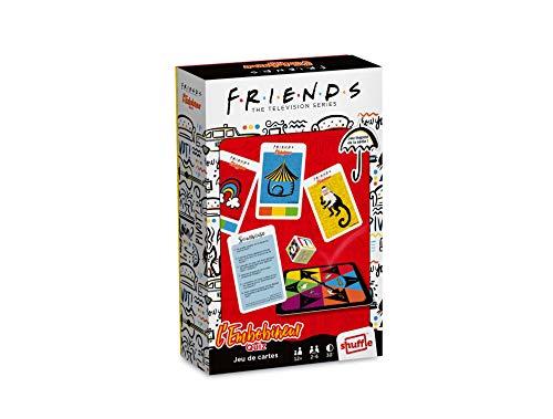 Friends, Warner Bros – La Rueda del Embobinador Quiz – Le Mystificador, Bamboozle – Juego de Cartas para Adulto – Serie TV