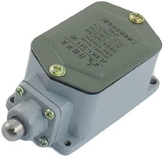 DealMux 0.15A 220VDC 0.8A 380VAC 1 NA 1 NC SPDT cerrado pulsador momentáneo Final de carrera del émbolo