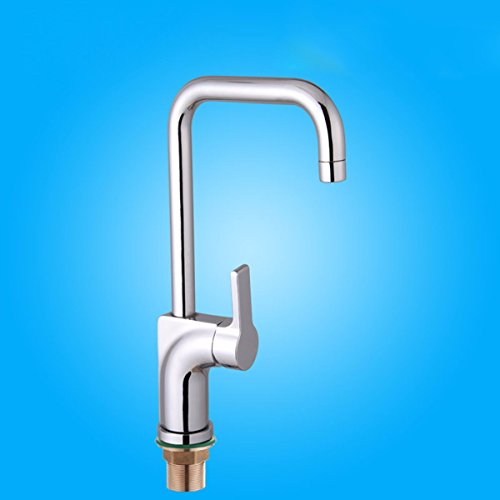 Buy All copper kitchen faucet, single hot and cold kitchen faucet, sink faucet, dish basin