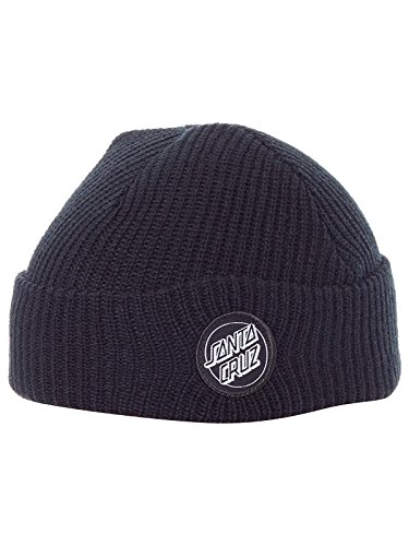 Santa Cruz Outline Dot Gorro - Black - talla única