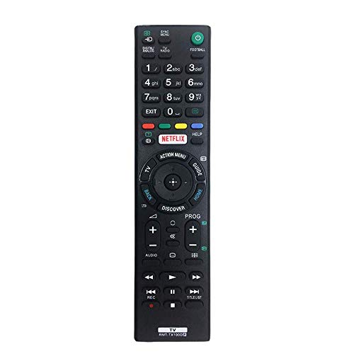 Repuesto RMT-TX100D Mando para Sony bravia TV fit para RMT-TX200E RMT-TX300E Control Remoto para Sony bravia