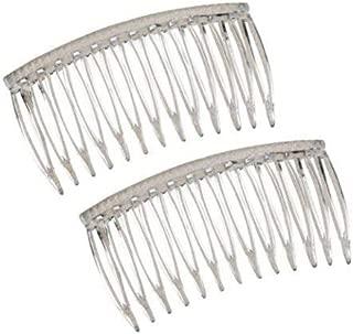 Good Hair Days The Original Grip-Tuth Hair Combs, Set of 2, 40817 Clear 3 1/4