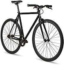 Fixed Gear Single Speed Urban Fixie Road Bike, Slate, 52cm/M