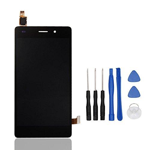 Theoutlettablet® Pantalla LCD Completa capacitiva con tactil digitalizador para Huawei P8 Lite 2016 (No válido para la versión 2017) + Herramientas - Color Negro
