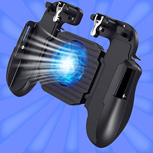 litty089 Joysticks Controlador De Juegos Ventilador De Refrigeración Ajustable Controlador De Juegos De Teléfono Control Remoto Gamepad Joystick 1#