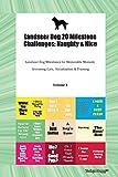 Landseer Dog 20 Milestone Challenges: Naughty & Nice Landseer Dog Milestones for Memorable Moment, Grooming, Care, Socialization & Training Volume 1