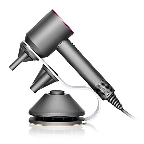 Dyson Supersonic Fast-Drying Gift Edition with Complimentary Stand for Hair Dryer and Attachments, Fuchsia