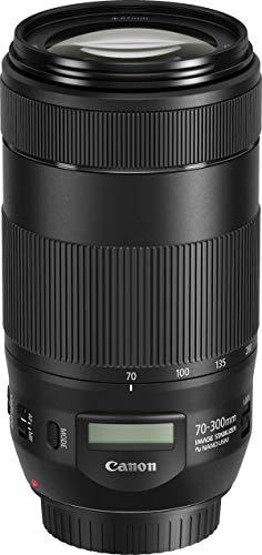 Canon EF70-300mm1:4-5, 6ISII USM Objektiv (67mm Filtergewinde) schwarz (Generalüberholt)