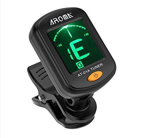 Elikliv Guitar Tuner,Digital Electronic Clip-On Tuner,compatible for AROMA...