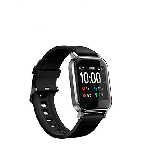 XQTEI Reloj Inteligente Deportivo, conteo de Pasos, posicionamiento móvil, monitoreo, autofoto de Control Remoto, monitoreo de Salud Reloj Inteligente de monitoreo Completo