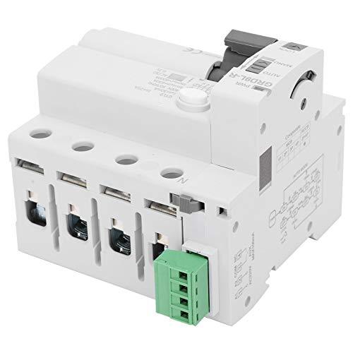 Protector de voltaje GRD9L-4p-R, dispositivo de protección contra sobretensiones portátil, módulo de componentes electrónicos, protector de sobrevoltaje de voltaje 4P 400V con luz LED(03)