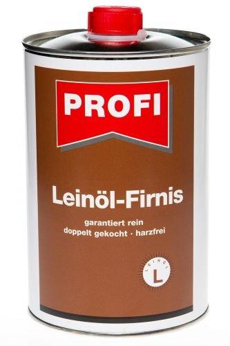 Leinöl-Firnis 1Ltr, Leinöl Firnis Holzschutz